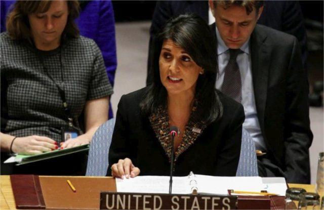 Ataque en Siria: Nikki Haley