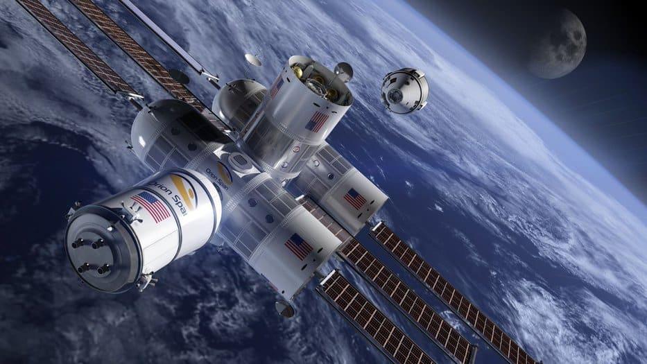 hotel espacial de lujo