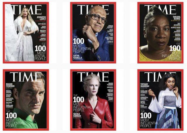 Las 100 personas Time 2018