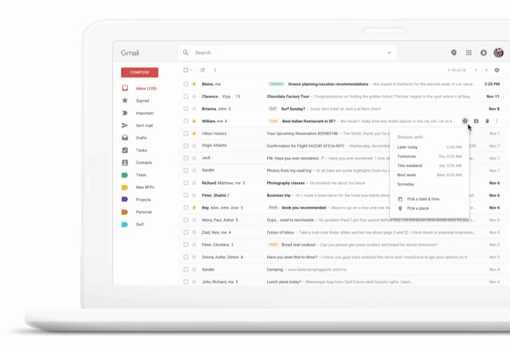 nueva imagen de Gmail