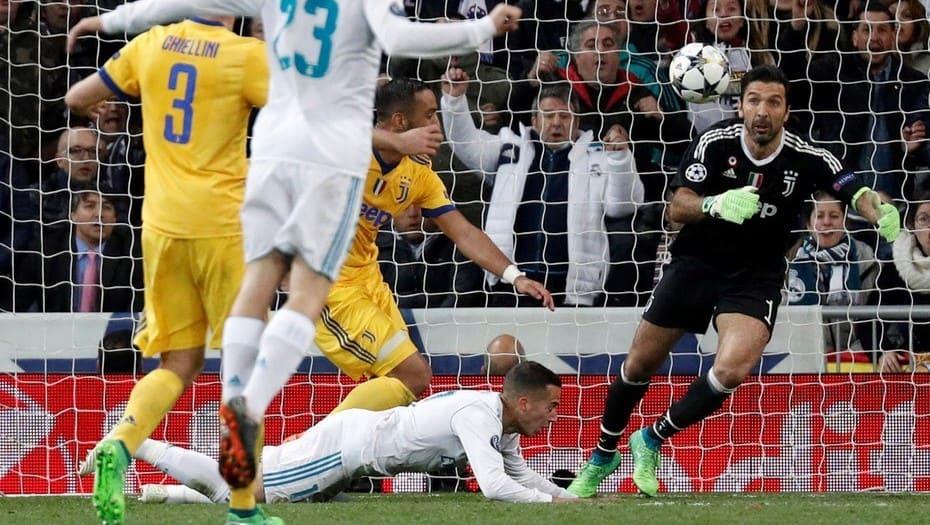 Cristiano Ronaldo eliminó a la Juve