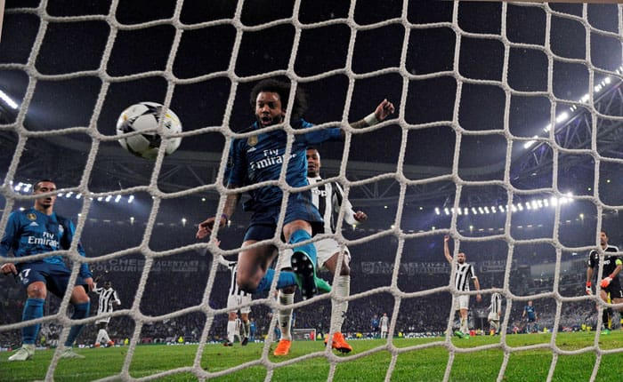 El Madrid goleó a la Juve: Fiesta blanca en Turín