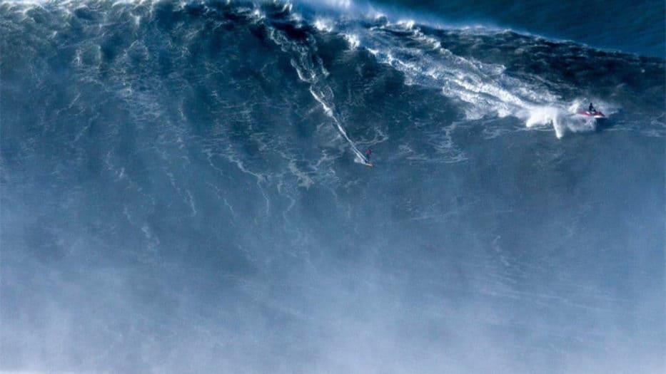 la mayor ola jamás surfeada