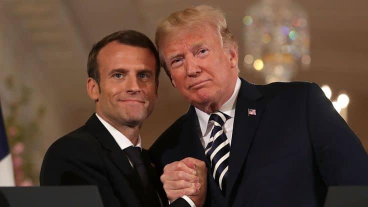 Reunión Macron Trump: la diplomacia del encanto