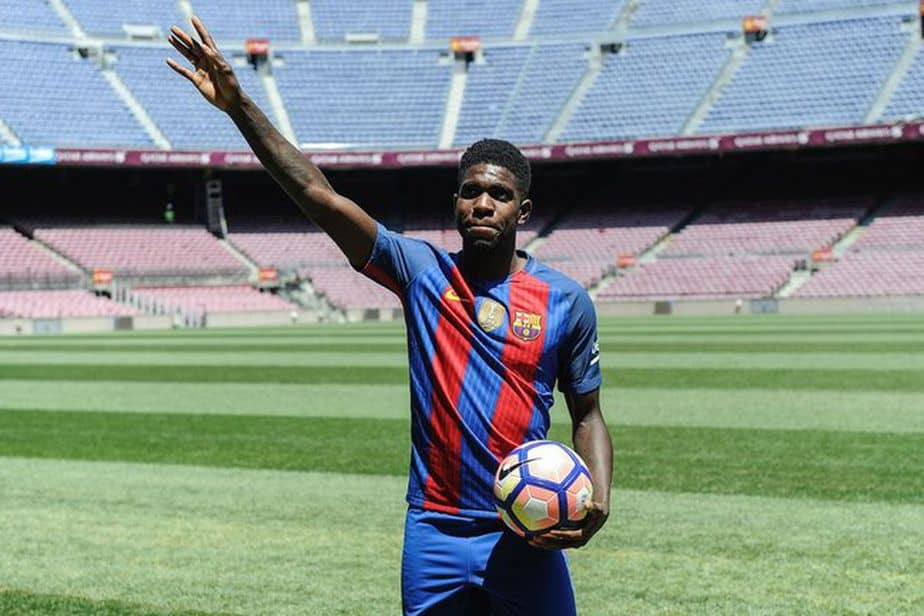 Umtiti en el FC Barcelona