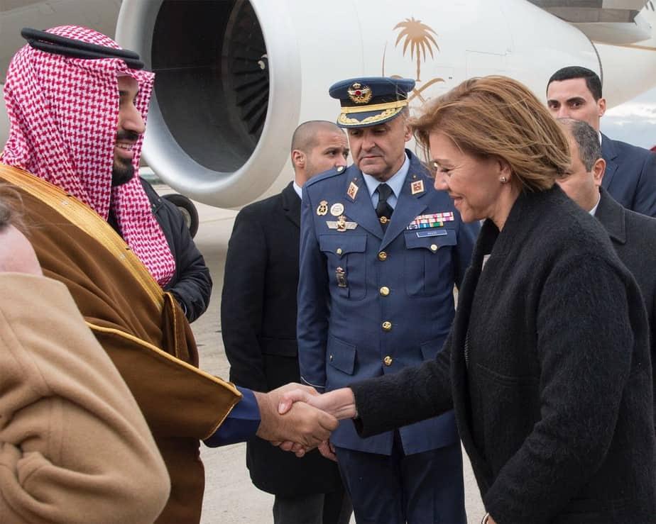 Visita del príncipe de Arabia Saudita a España