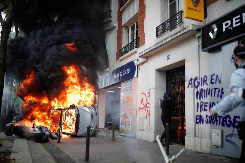 Fotos de las protestas del 1 de mayo