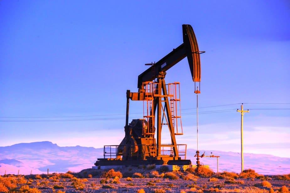 Campo de petróleo en Egipto