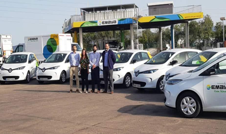 EMAYA incorpora a su flota 7 vehículos eléctricos con autonomía para 403 kilómetros