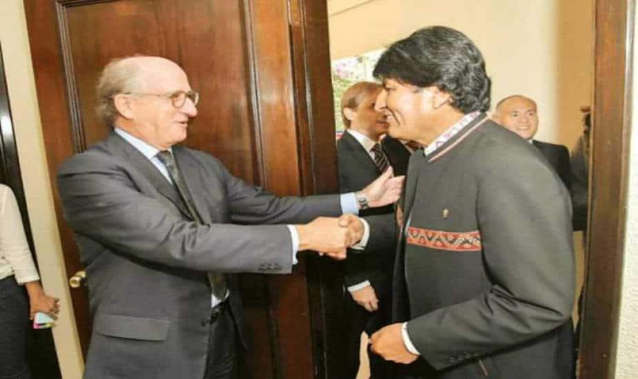 Repsol visita Bolivia y pasa revista de sus operaciones e inversiones