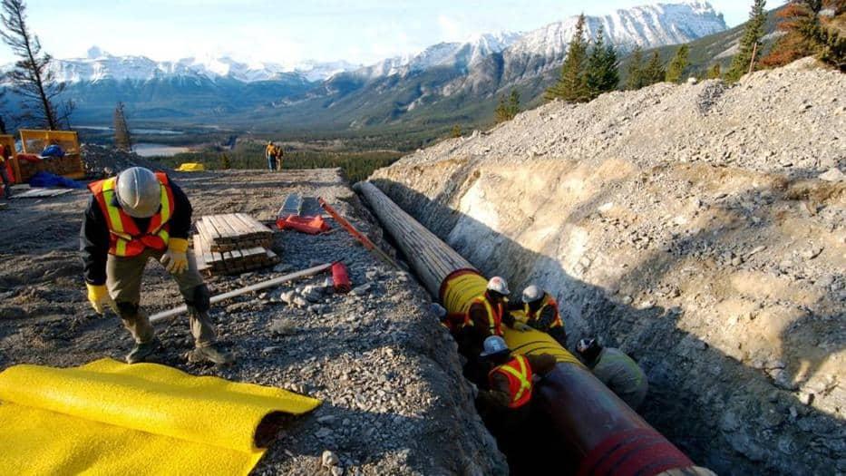 Compran el oleoducto Trans Mountain
