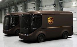 Ecológicas camionetas eléctricas UPS