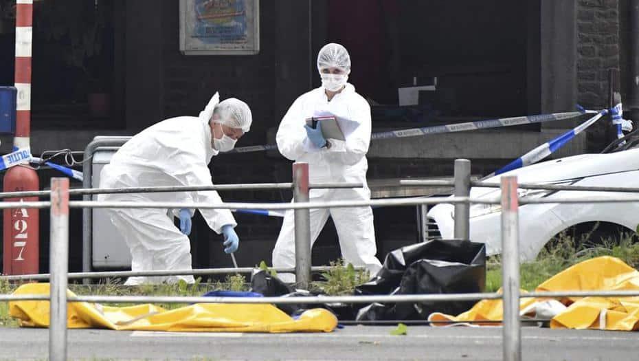 tiroteo en Bélgica
