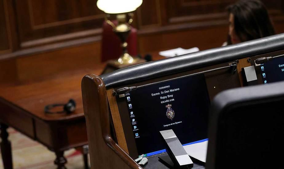 Mariano Rajoy deja oficialmente su escaño en el Congreso