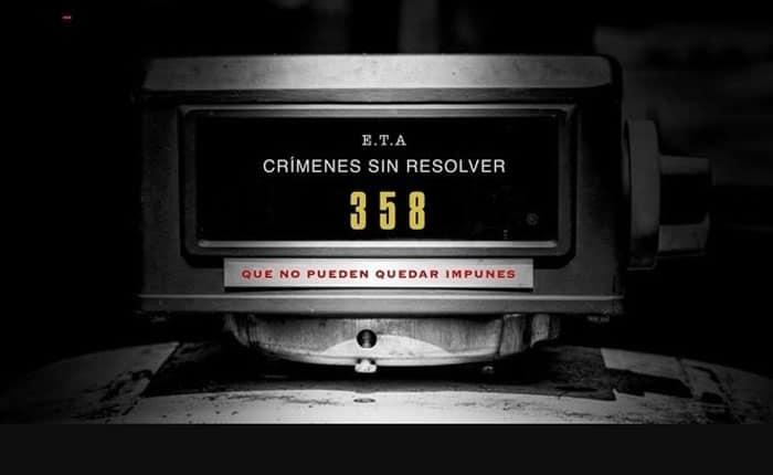 La disolución de ETA está dejando deudas: 358 crímenes