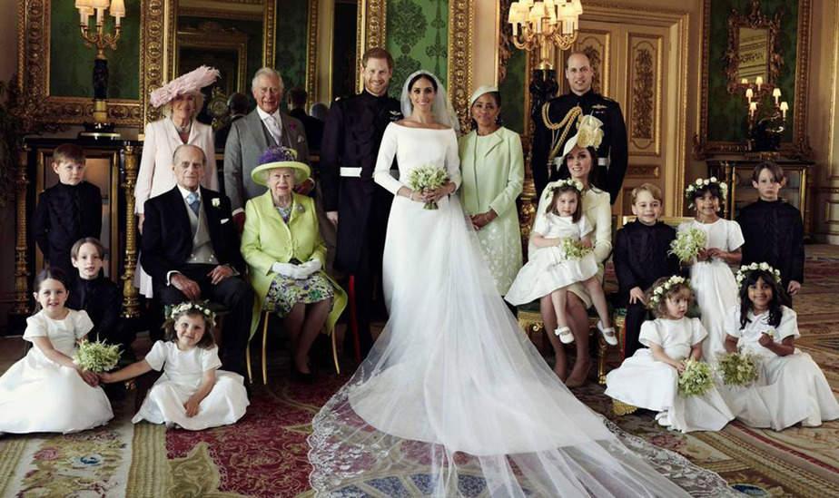 Casa Real británica: fotografías oficiales de la boda del Príncipe Harry y Meghan Markle