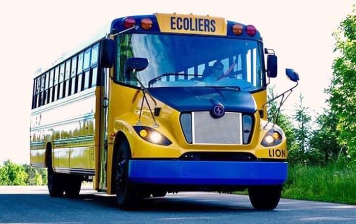 Autobuses eléctricos en EEUU para las escuelas