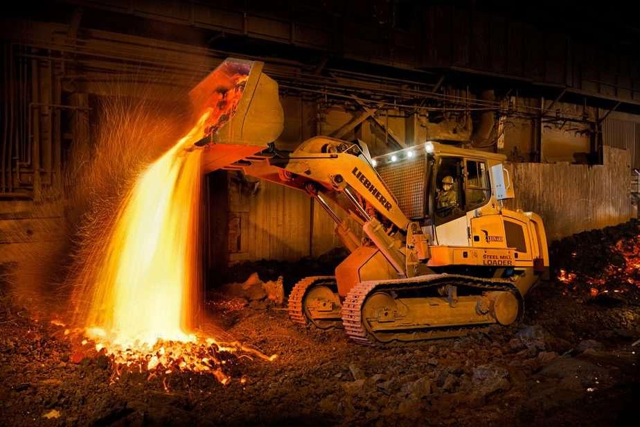 Fabrica de comercialización de hierro en China
