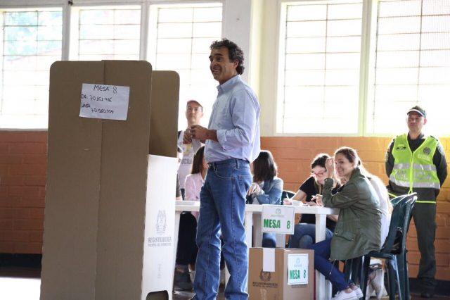Elecciones en Colombia: Sergio Fajardo