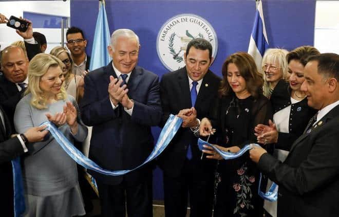embajadas latinas en Jerusalén