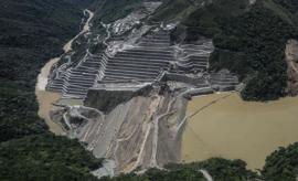 presa de Colombia