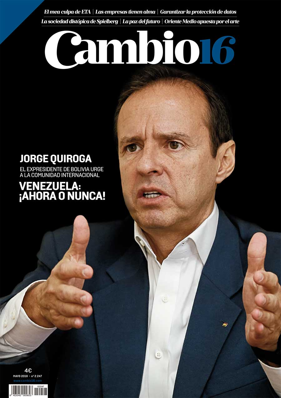 Jorge Quiroga en Cambio16