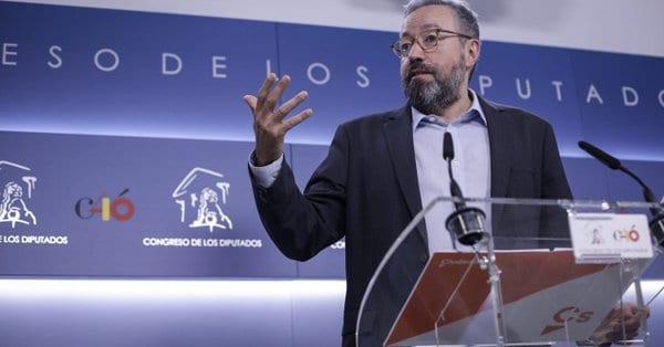 Ciudadanos no apoyará la moción con Sánchez candidato