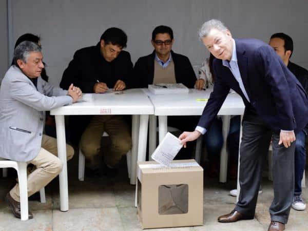 Elecciones en Colombia: Juan Manuel Santos