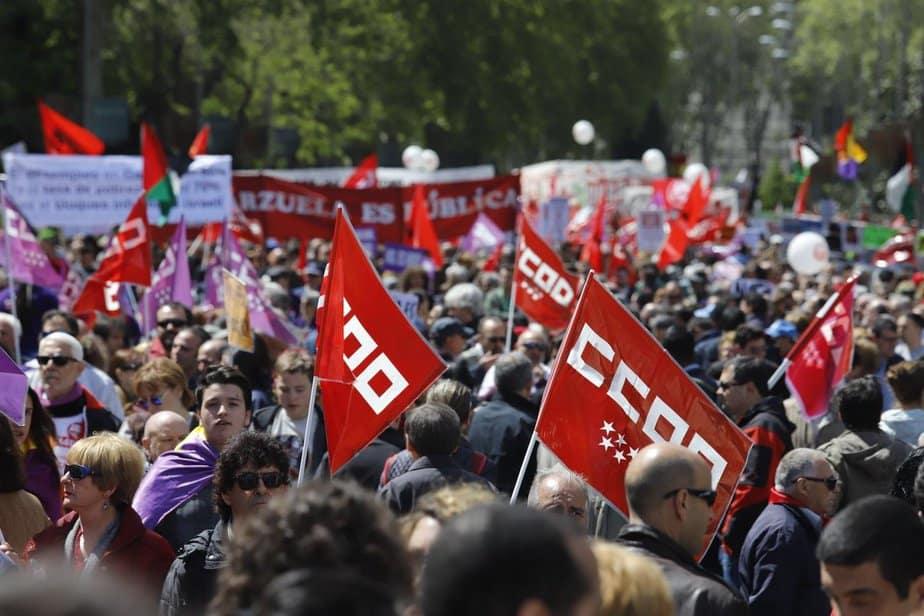 Más de 80 manifestaciones por el Día del Trabajo 2018