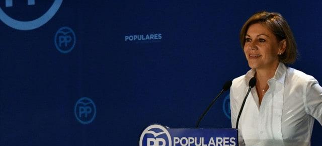 """Cospedal no aspira a un cargo en el futuro PP: """"Sería absolutamente improcedente"""""""