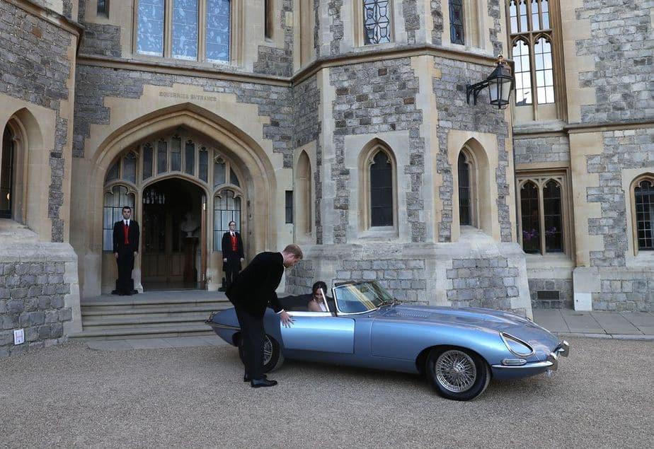autos de la boda real