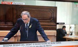 Los hilos que mueven a Quim Torra: el emisario de Puigdemont