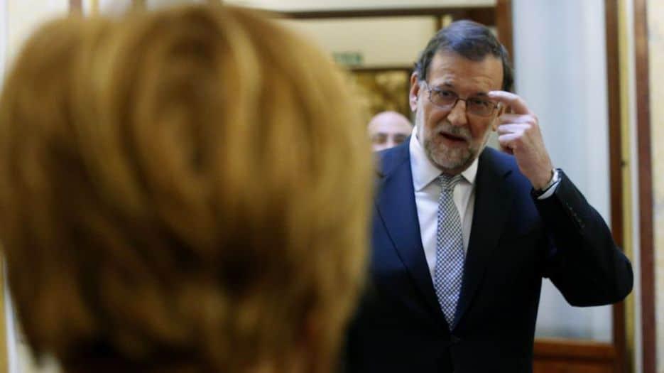 Rajoy en la sesión de Control