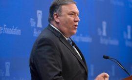 """Sanciones de EEUU a Irán """"serán las más fuertes"""", dijo Pompeo"""