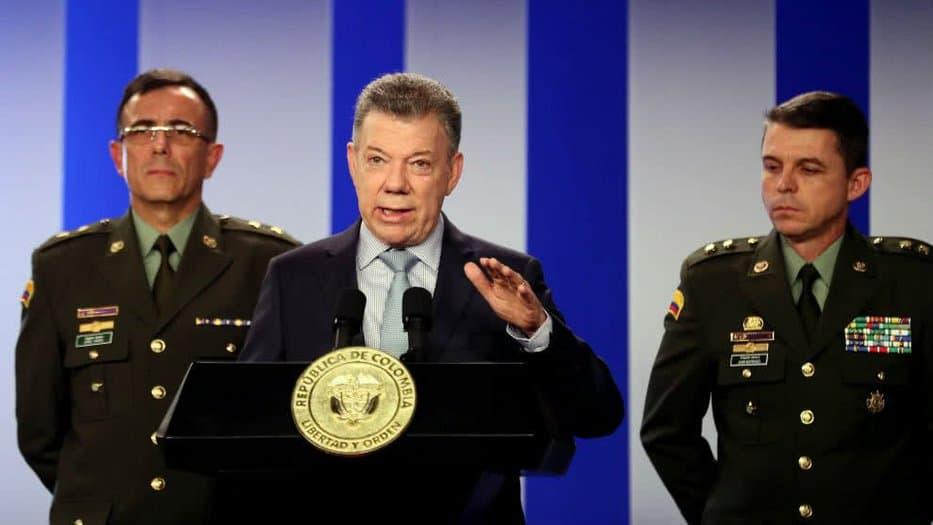 Santos denuncia plan de Nicolás Maduro