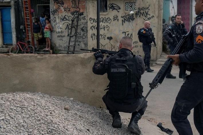 tiroteo en Rio de Janeiro