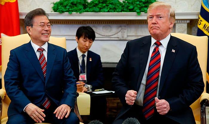 Cumbre entre Trump y Kim aguarda en la banca