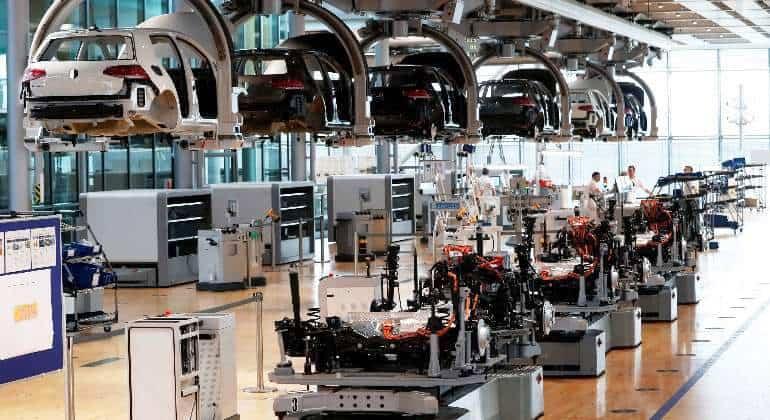 Fabricas para coches eléctricos de Volkswagen