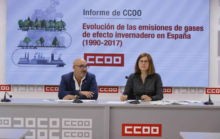 Crecieron emisiones de GEI en España durante 2017 en 4,46 por ciento