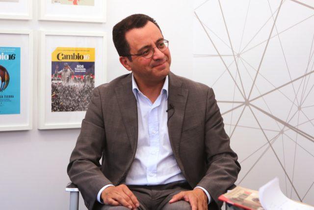 El periodista César Mauricio Velásquez, analista político y exportavoz del Gobierno de Uribe.