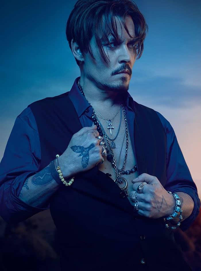 Johnny Deep en un nuevo cortometraje de Sauvage para Dior