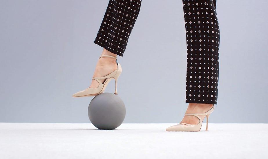 Manolo Blahnik: ensoñadores zapatos