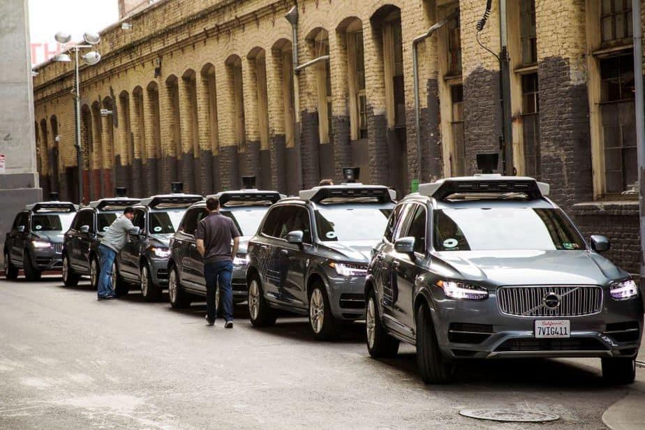 Coches eléctricos de Uber