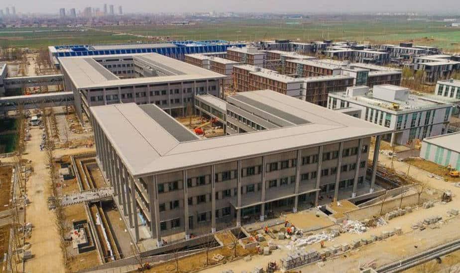 China construye una ciudad inteligente como nuevo centro financiero del país