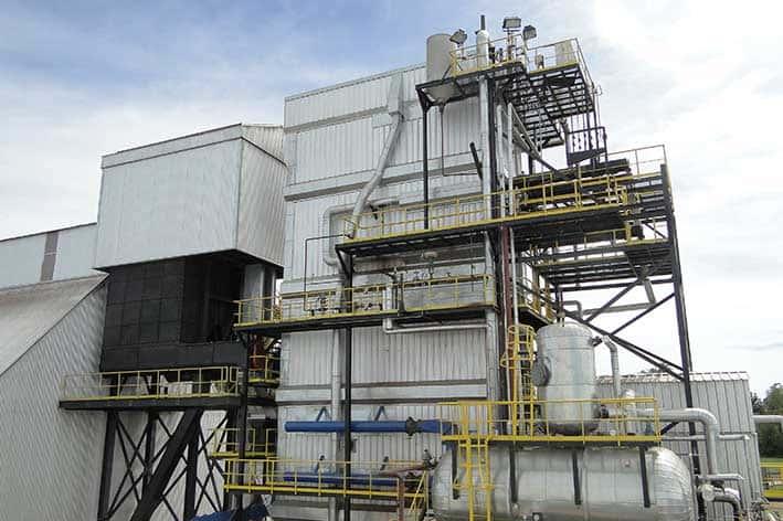 Planta de electricidad en Argentina