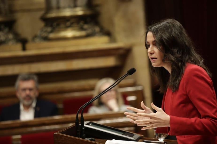 """Arrimadas a Torra: """"Usted lo único que dará a Cataluña es un CDR"""""""