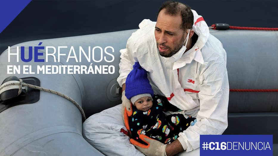 Niños migrantes muertos