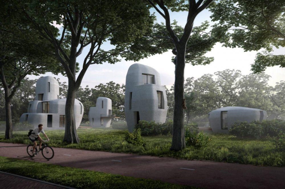 primeras casas impresas en 3D