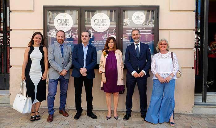 cine de verano de Málaga ofrecerá 109 proyecciones gratuitas