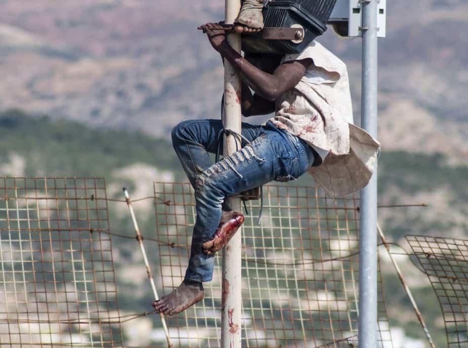 Las concertinas de Ceuta y Melilla muestran el filo del debate migratorio